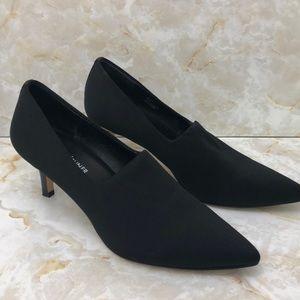 Donald J Pliner Black heels sz 7.5 Falen like new